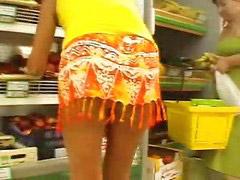 Supermarket, Upskirts panties, Upskirt supermarket, Upskirt panty, Upskirt no pantie, Panty upskirt