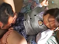 Schulmädchen masturbieren, Asiatisch lecken
