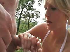 Granny, Threesome outdoor, Outdoors threesome, Outdoor granny, Outdoor threesomes, Drinks