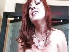 Shaving, Big ass fuck, Blowjob&fucking, Big tit milf, Stocking cum, Britt