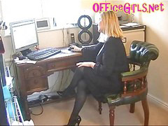 Upskirt, Pantyhose, Stockings, Secretary, Stocking