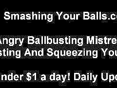 Untill, Squeezing balls, Squeeze bdsm, Spanked balls, Bdsm spank, Bdsm spanked
