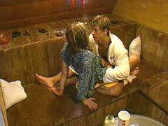 Sauna, Big brother, Big brother sex, Sex sauna, Saunas, Sauna sex