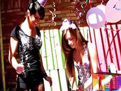 Lesbian 18, Mandi, Mandy, Turned, Turn turn turn, Midnight