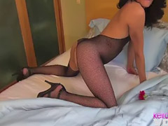 Shemale, Amateur shemale, Fishnet stockings, Stocking shemale, Fishnet, Shemale amateur