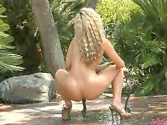 Stripping babe, Stripping outdoor, Strip outdoor, Strip blonde, Outdoor stripping, Outdoor strip