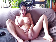 Big tits solo, Toy solo, Dildo cam, Webcam brunette, Webcam tits, Glasses masturbating