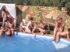 Pool, Pool sex, Groupe sex, ญี่ปุ่น group sex, تلصص pool, Groups sex