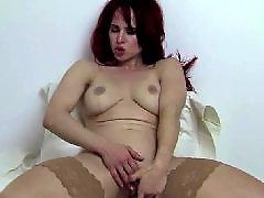 Redhead stockings, گوززنfit, Redhead stocking, Fitness masturbate, Redheads masturbate, Redhead masturbation