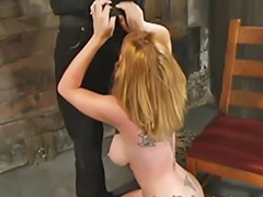 Bound, Bondage, Asian spanking, Vagina sex, Spankin, Blonde asian
