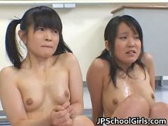 Asian, Students, Student, Punish, Female