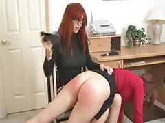 Office lesbian, Spanking lesbian, Lesbian spanking, Lesbian office, Veronica, Spanked lesbian