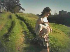 Amateur, Masturbation, Outdoor