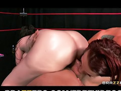 Redhead massage, Head shaving, Big oil, Massage lick, Oil sex, Redhead blowjob