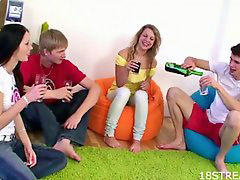 Teen, Foursome, Teen foursome, Hot teen, §some, Teen hot