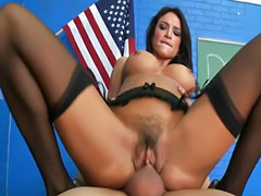 Teacher, Teacher big tits, Big tits, Big dick, Spanish