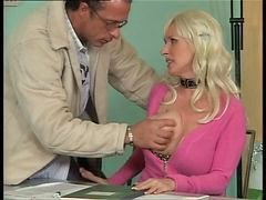 German, German fuck, German mature, Mature german, Busty mature, In office