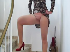 Exposed, Pornstar stockings, Lingerie stockings, Heels stockings, Exposing, Pussy stockings