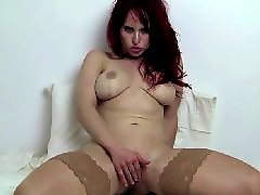 Redhead stockings, گوززنfit, Redhead stocking, Fitness masturbate, Redheads masturbate, Redhead masturbation