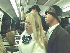 Dangerous, Train ride, Train girl, Public train, Public riding, Public blonde