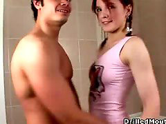 The cute, Teen mouth, Teen hard, Teen drilled, Mouth hard, Hard teen