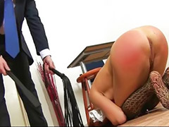Spanked by teacher, Bondage, Asian toys, Head shaving, Asian spanking, Asian teacher