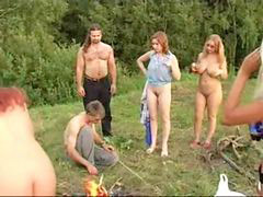 Ruski porno party amaterke, Vroči pornič