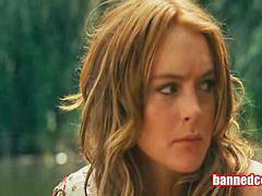 Lindsay lohan, Lohan lindsay, Lindsay, Lohan, Gives blowjob