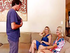 Julia ann, Julia ann,, Emma star, Seduced by a cougar, Seduce by a cougar, Julia-ann