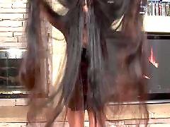 抠b, 长发, 长头发, 揪头发