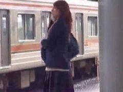 Beg, Took, Lesbians train, Lesbian, train, Lesbian mischief, Lesbian training