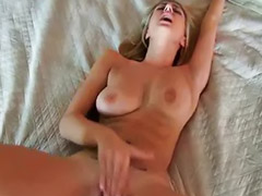 Pov oral, Blowjob gf, Amateur pov, Cum on tits, Her pov, Pov fuck