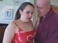 Bbw, Old man, Teen, Seduce, Bbw teen, Teen old