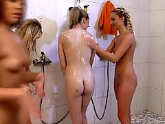 Shower, Punishment, Punish, Strip, Girl