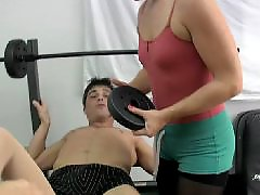 Sitting in face, In face, I the gym, Handjobs face, Handjob in, Hottie in