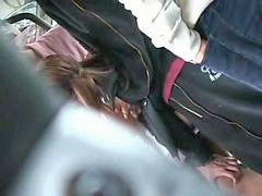 Bus, Groped, Teen orgasm