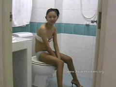 Thai, Toilet, Hooker, Thai hooker, Hookers, Πουτανα hooker