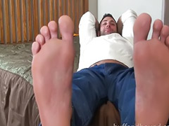 Footj, Fetish gay, Bondage gay, Miking, Fetish footjob, Fetish bondage