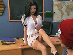 Student seduce teacher, In classroom, The classroom, Teachers students, Teacher seducing student, Teacher seduces