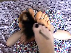 Foot tickle, Foot close up, Foot tickling, Amateur foot, Amateur close up, Amateur tickling