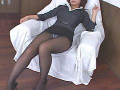 Pantyhose, Upskirt, Asian