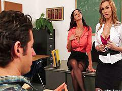 Teacher, Ava addams