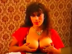 Vintage, Hairy anal, Big anal threesome, Vintage big tits, Double penetration asian, Hairy brunette