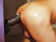 Huge dildo, Huge ass, Huge black, Gay dildo, Gay toy, Black gays