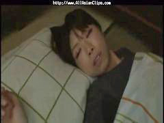 Asian, Cumshot, Sleeping, Sleep