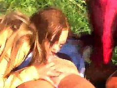 Любительское девочка подросток, На пляже, Подсматривание, Девочка подросток