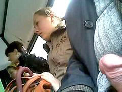 Bus, X women, Threes, Womens, Women women, On a bus