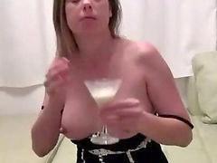 Amateur, Milk, Milking