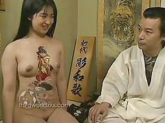 Asian, Tattoo, Tattooed sluts, Tattoo asian, With asian, Slut asian