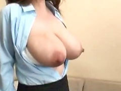 Big boobs, Lactating